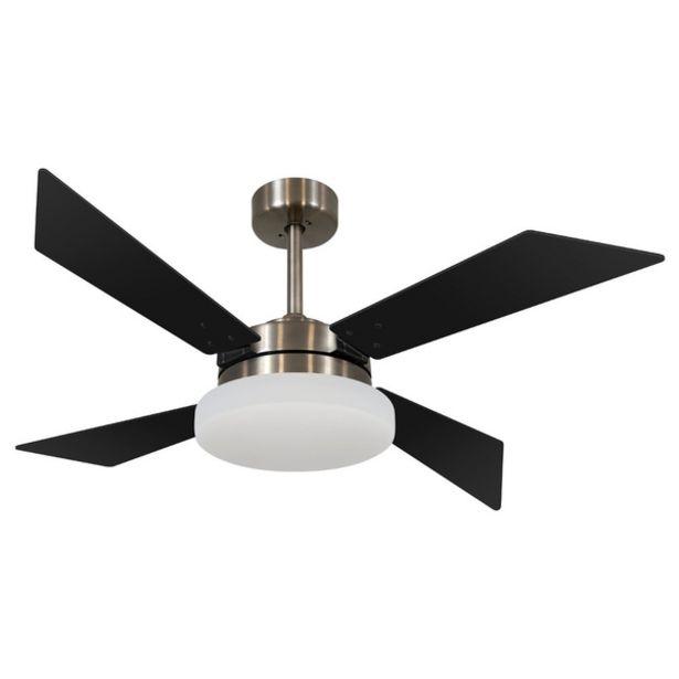 Oferta de Ventilador De Teto Volare Tech Preto 127v por R$1429