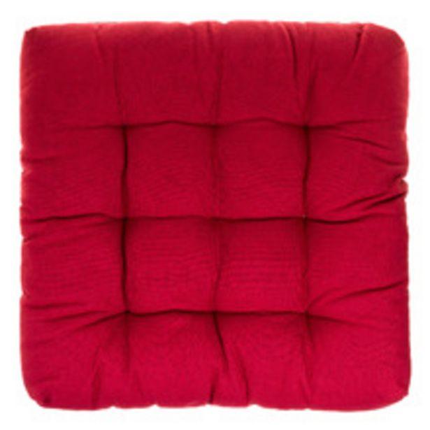 Oferta de Futon Basic Vermelho 70x70cm Inspire por R$79,9