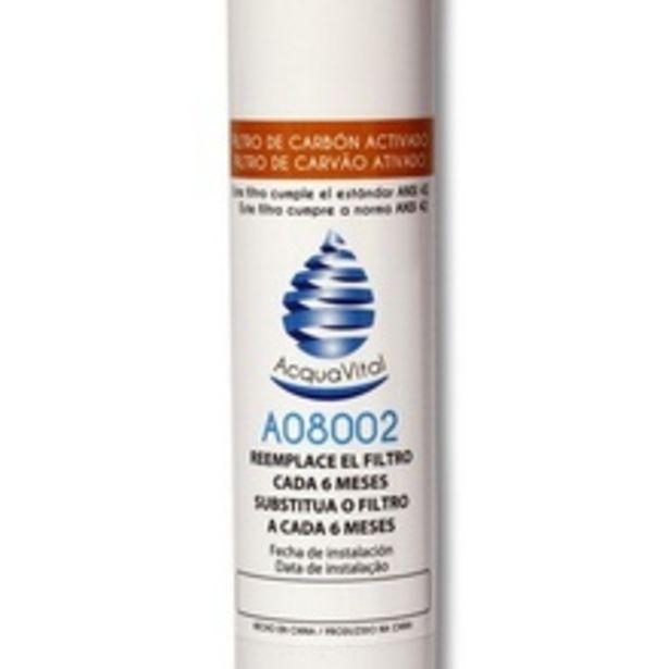Oferta de Filtro Refil Externo Para Geladeira Refrigerador Side By Side Electrolux, Brastemp, Consul, Samsung, Ge E Lg por R$59,9