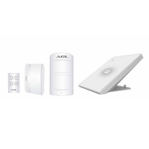 Oferta de Kit Central de Alarme WiFi AW-PLUS Bivolt AGL por R$461,9