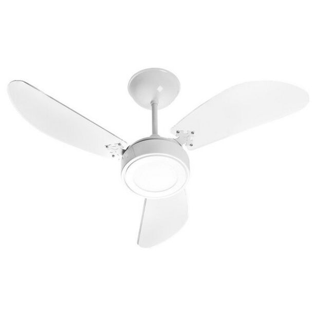 Oferta de Ventilador De Teto Venti-delta New Light Led Com 3 Pás Branco 220v por R$489,9