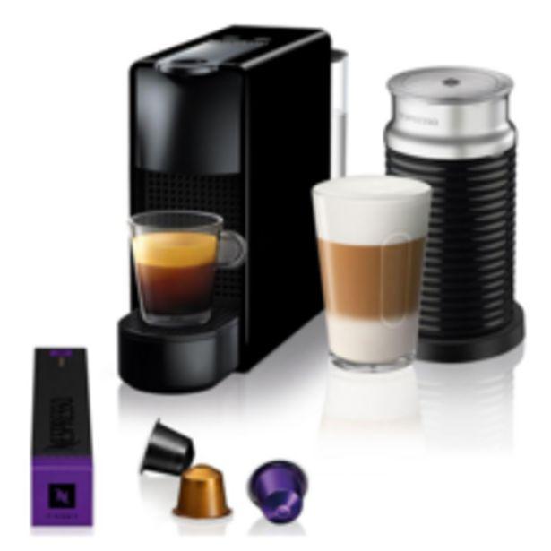 Oferta de Cafeteira Nespresso Essenza Mini Preta C30, 127v, Reservatório Agua 0,6l, Duas Medidas De Café 40ml E 110ml, 1450w por R$646,92