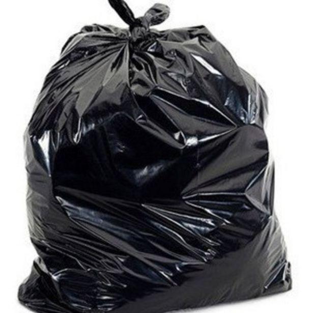 Oferta de Kit Com 100 Sacos De Lixo Preto Com Capacidade De 60 Litros por R$58,71