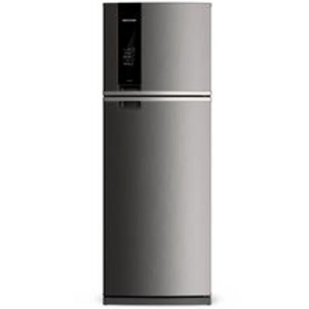 Oferta de Geladeira Brastemp Frost Free Duplex 500 Litros Cor Inox Com Turbo Control 110v por R$3729