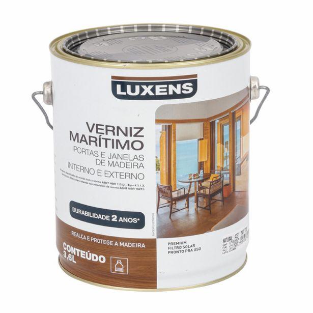 Oferta de Verniz Marítimo Brilhante 3,6L Luxens por R$69,9