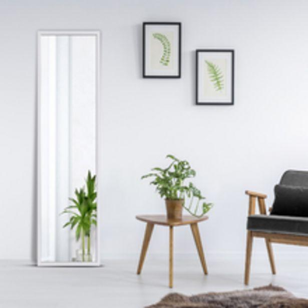 Oferta de Espelho Color Branco 48x164cm por R$119,9