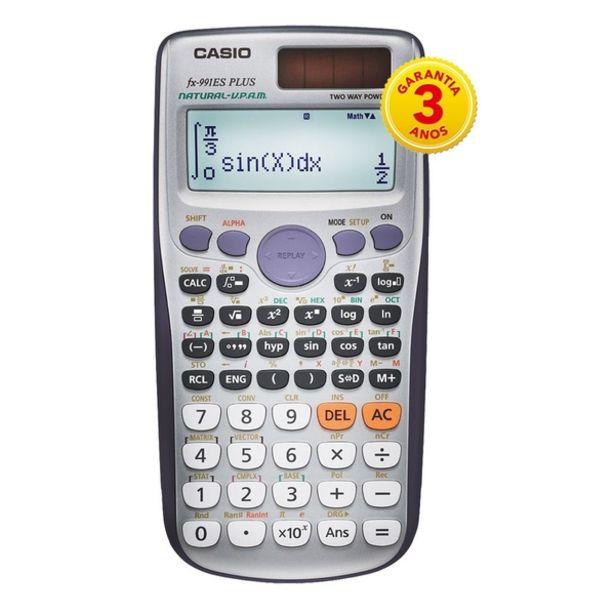 Oferta de Calculadora Científica Casio C/ 417 Funções, Visor  De 4 Linhas Fx-991esplus por R$148,75