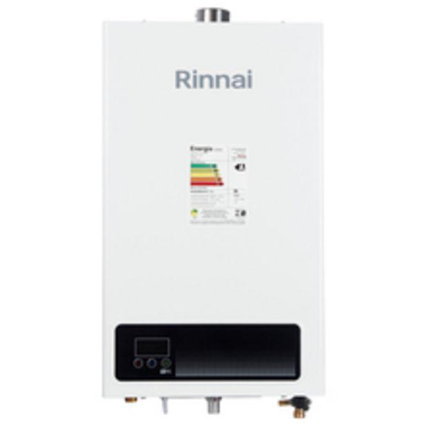 Oferta de Aquecedor a Gás GLP 15L/min Branco E15 Rinnai por R$1699,99
