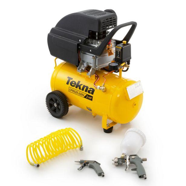Oferta de Compressor de Ar com Kit CP 8.5/24L 2HP 220V Tekna por R$869,9