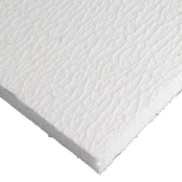 Oferta de Forro Isopor Texturizado 1250 x 625 x 30mm C/ 16 Pçs Branco - Terac por R$311,39