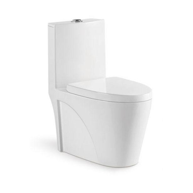 Oferta de Vaso Sanitário Monobloco Completo Branco - Caixa Acoplada Privada Unio por R$959,9