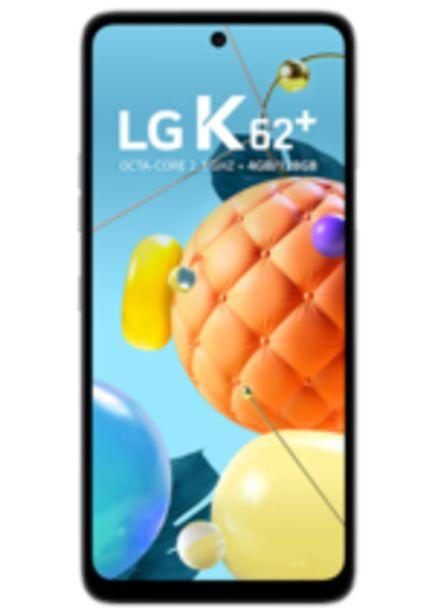 Oferta de Smartphone LG K62 Plus, Branco, 128GB, Tela 6.6, Câm. 48MP por R$1399