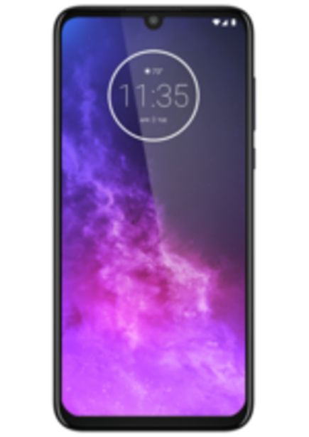 Oferta de Smartphone MotorolaOne Zoom, Violeta, 128GB, Tela 6.4 HD+, Câm. 48MP por R$1899