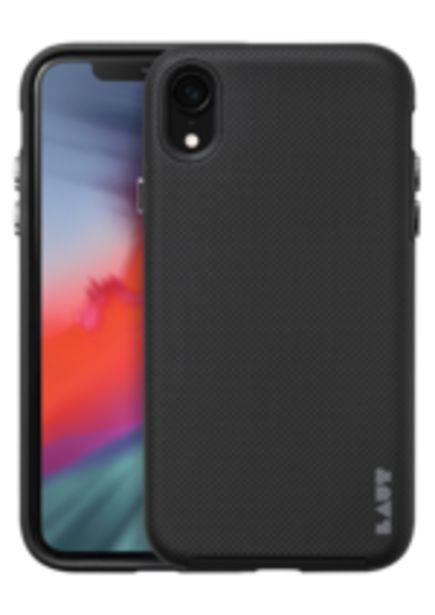 Oferta de Capa iPhone XR LAUT SHIELD - Preto por R$99