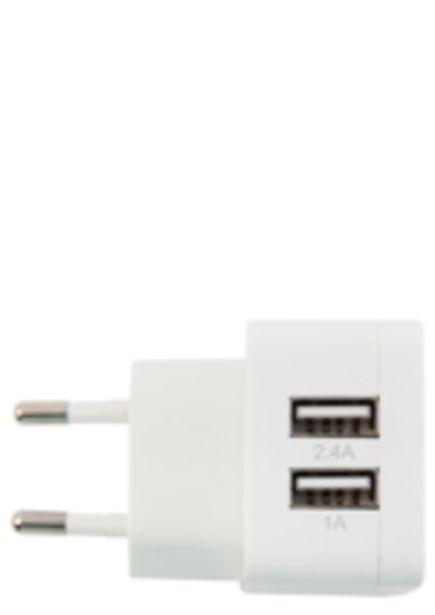 Oferta de Carregador de Parede Geonav com Dupla Saída USB 3.4A por R$69