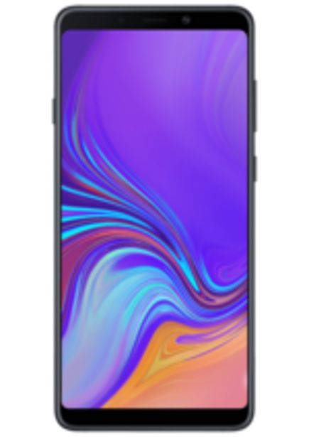 Oferta de Smartphone Samsung A9, Preto, 128GB, Tela 6.3, Câm. 24MP por R$899