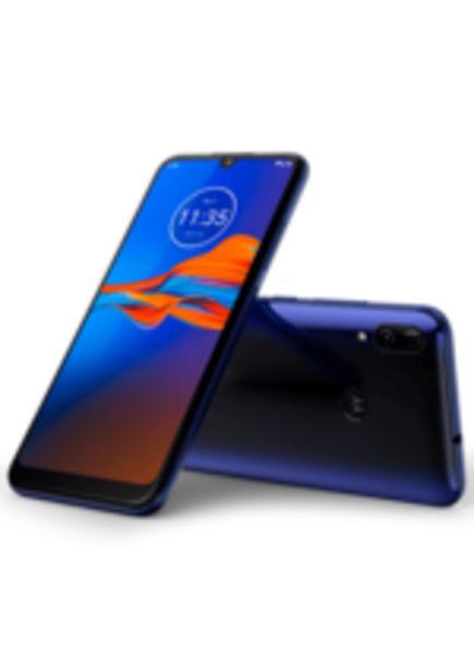 Oferta de Smartphone Moto e6 Plus, Azul, 32GB, Tela 6.1 HD+, Câm. 13MP por R$899