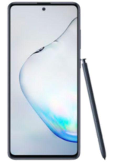 Oferta de Samsung Galaxy Note10 Lite, Preto, 128GB, Tela 6.7, Câm. Tripla 12MP por R$2249