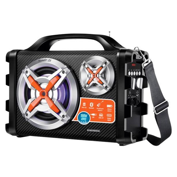 Oferta de Caixa Amplificada Multi Connect Thunder IX MCO09 Mondial Bivolt por R$249
