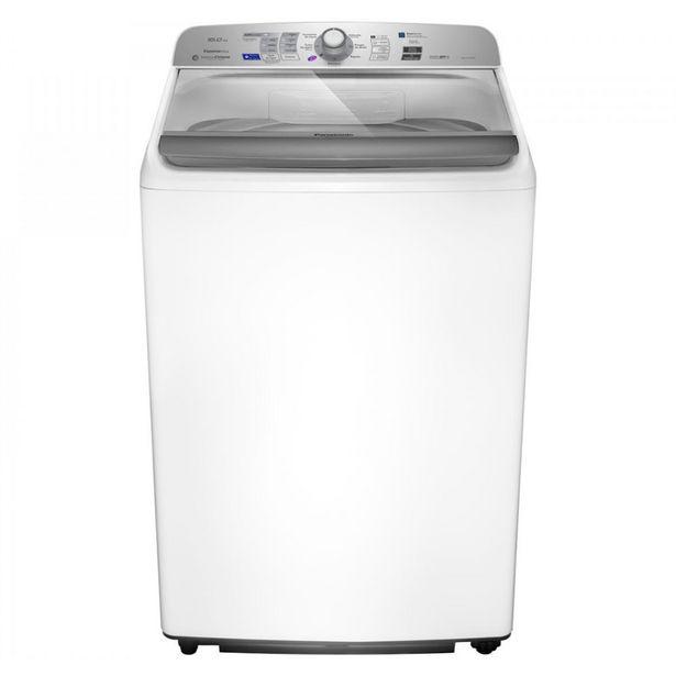Oferta de Lavadora de Roupas Panasonic NA-F160B6WB 16kg 9 Programas de Lavagem Branca por R$2158,8
