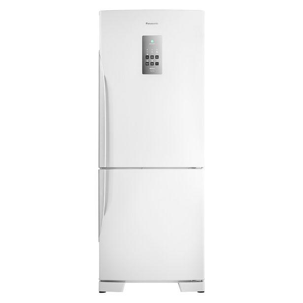 Oferta de Refrigerador Duplex Panasonic NRBB53PV3WB Frost Free 425 Litros Branco por R$3958,8