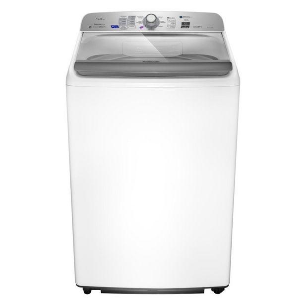 Oferta de Lavadora de Roupas NA-F140B6WB 14kg 9 Programas de Lavagem Branca Panasonic por R$1749