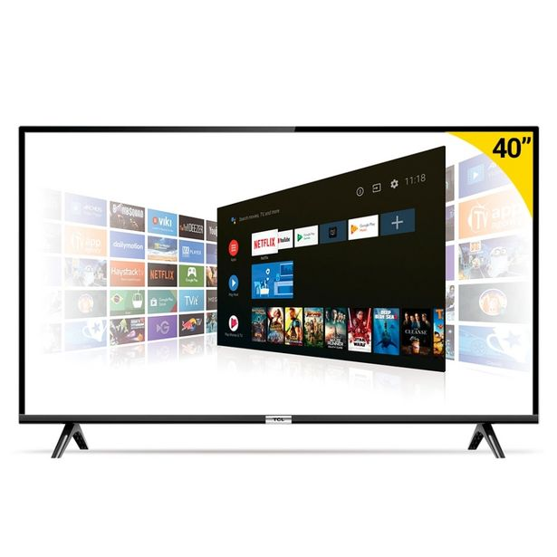 Oferta de Smart TV Led 40 40S6500 Full HD com WiFi e Entrada HDMI Preto Semp Tcl por R$1699