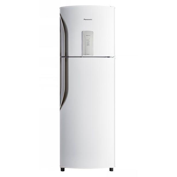 Oferta de Refrigerador Duplex NR-BT40BD1WB Frost Free 387 Litros Panasonic Branco por R$2699