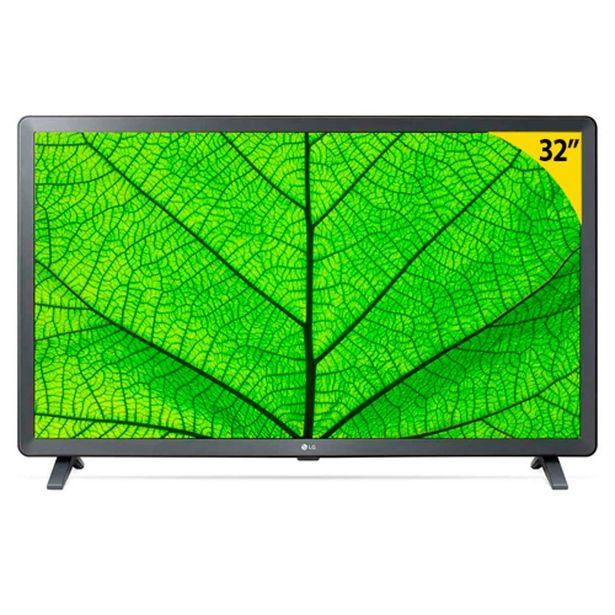 "Oferta de Smart TV LG 32LM627BPSB Led 32"" HD 3 HDMI 2 USB Preto por R$1799"