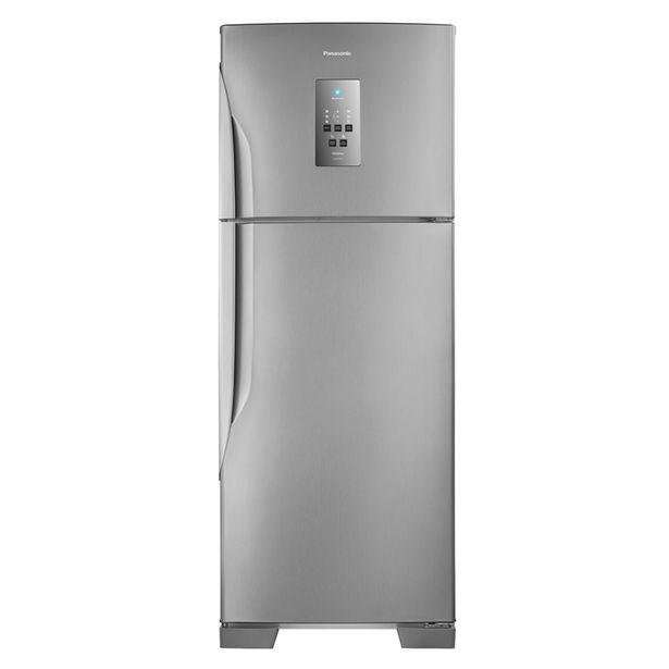 Oferta de Refrigerador Duplex Panasonic NRBT55PV2XB Frost Free 483 Litros Aço Escovado por R$3898,8