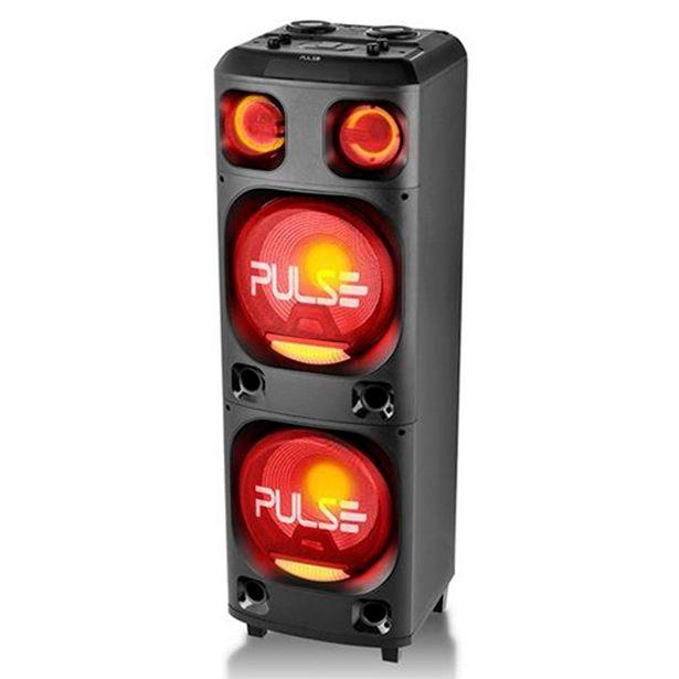 Oferta de Caixa Amplificada Multilaser Torre SP1000 Bluetooth Preta por R$2518,8