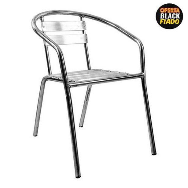 Oferta de Cadeira Terraço 100 Alumínio Alegro por R$107,4
