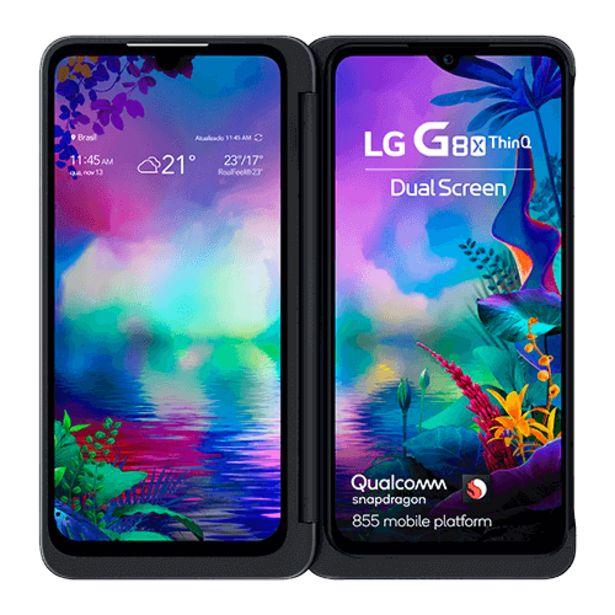 Oferta de LG G8X ThinQ por R$3099