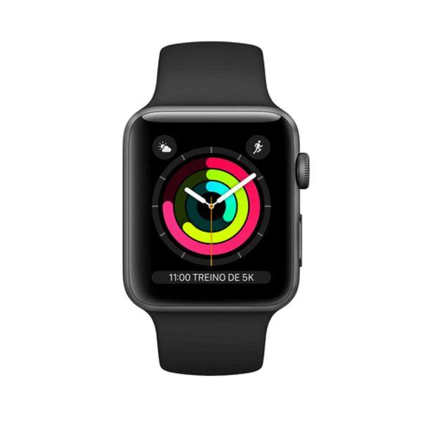 Oferta de Apple Watch Series 3 42mm por R$2149,99