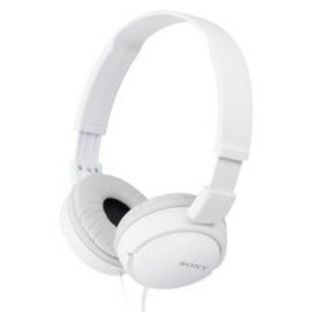 Oferta de Headphone Sony MDR-ZX110 por R$107