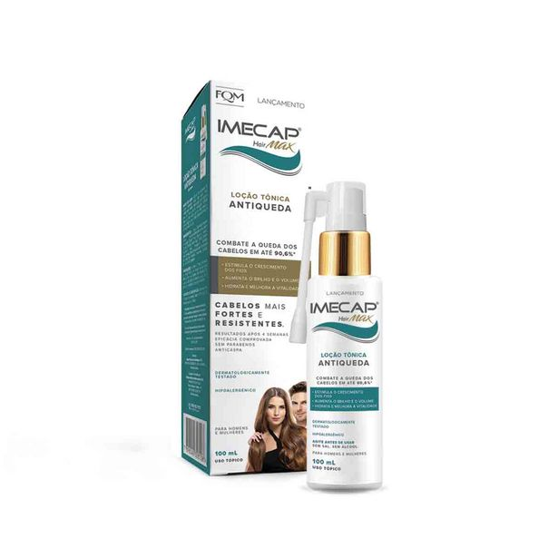 Oferta de Imecap Hair Max Loção 100ml por R$59,99