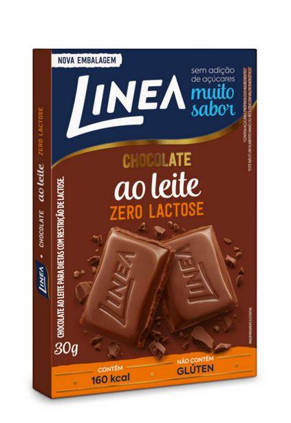 Oferta de Chocolate Linea Ao Leite Diet Zero Lactose 30g por R$4,99