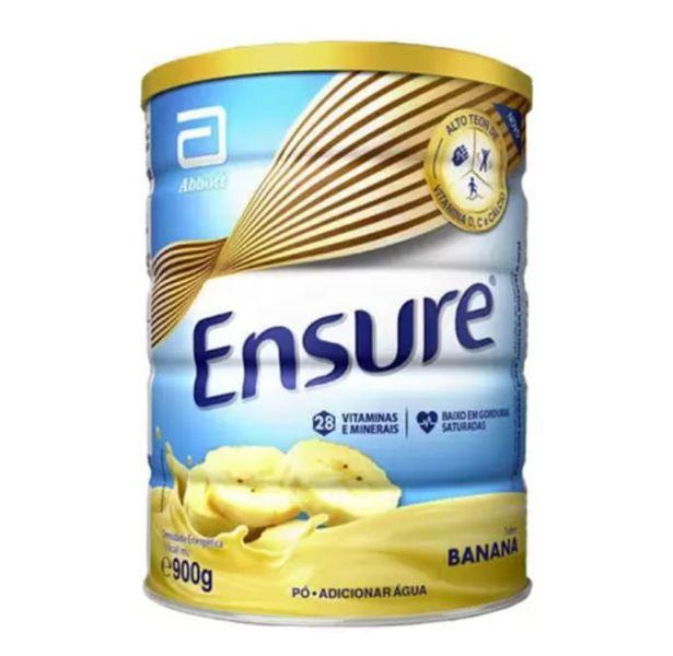 Oferta de Suplemento Adulto Ensure Pó Sabor Banana 900g por R$106,99