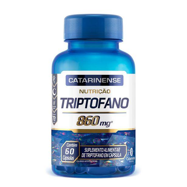 Oferta de Triptofano Nutrição Com 60 Cápsulas Catarinense por R$49,9
