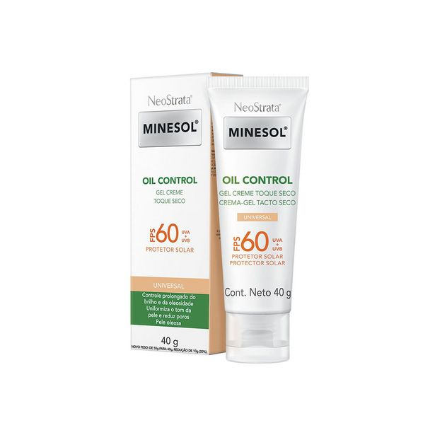 Oferta de Neostrata Minesol Protetor Solar Oil Control Fps60 Com Cor 40g por R$63,19