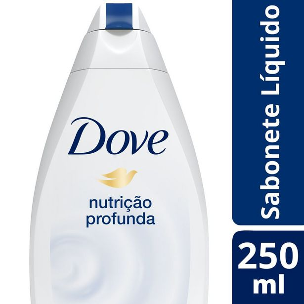 Oferta de Sabonete Líquido Dove Nutrição Profunda 250ml por R$8,19