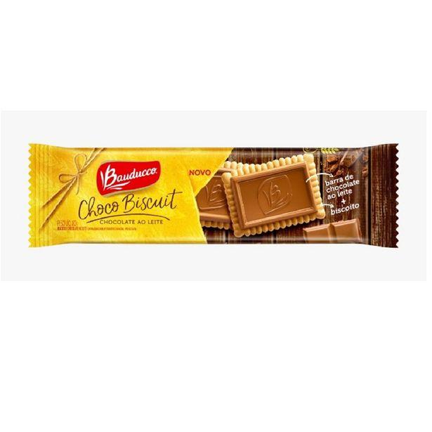 Oferta de Biscoito Bauducco Biscuit Chocolate Ao Leite 80g por R$5,49