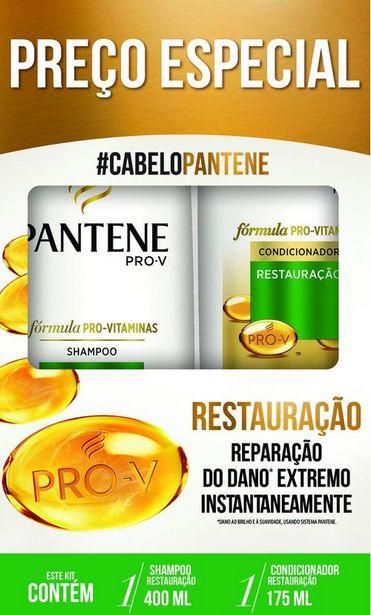 Oferta de Shampoo 400ml + Condicionador 175ml Pantene Restauração por R$21,99