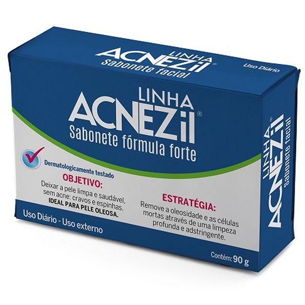 Oferta de Sabonete Acnezil Forte 90g por R$7,99