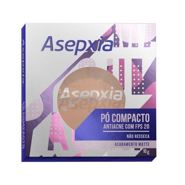Oferta de Maquiagem Asepxia Pó Compacto Bege Claro por R$43,99