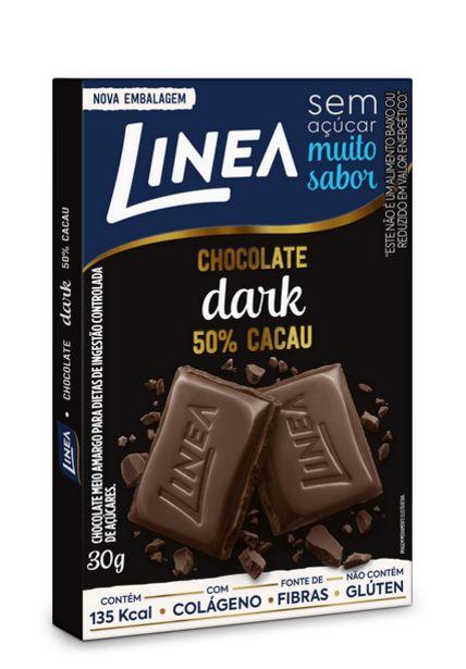 Oferta de Chocolate Linea Meio Amargo Zero Açucar 30g por R$5,29