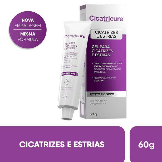 Oferta de Gel para Cicatrizes e Estrias Cicatricure 60g por R$45,99