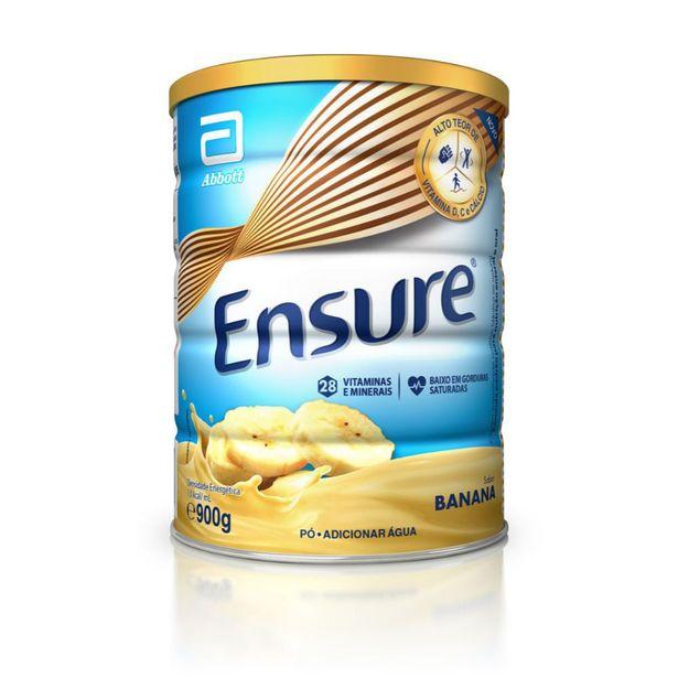 Oferta de Suplemento Adulto Ensure Pó Sabor Banana 900g por R$114,99