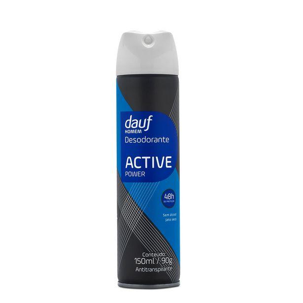 Oferta de Desodorante Dauf Active Power Aerossol 90g por R$5,99