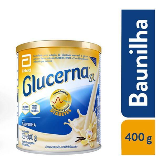 Oferta de Suplemento Nutricional Glucerna Pó Sabor Baunilha 400g por R$62,99